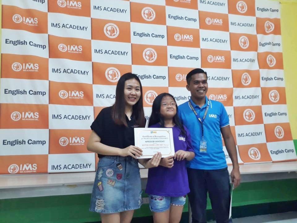 học bổng du học Philippines từ học viện IMS