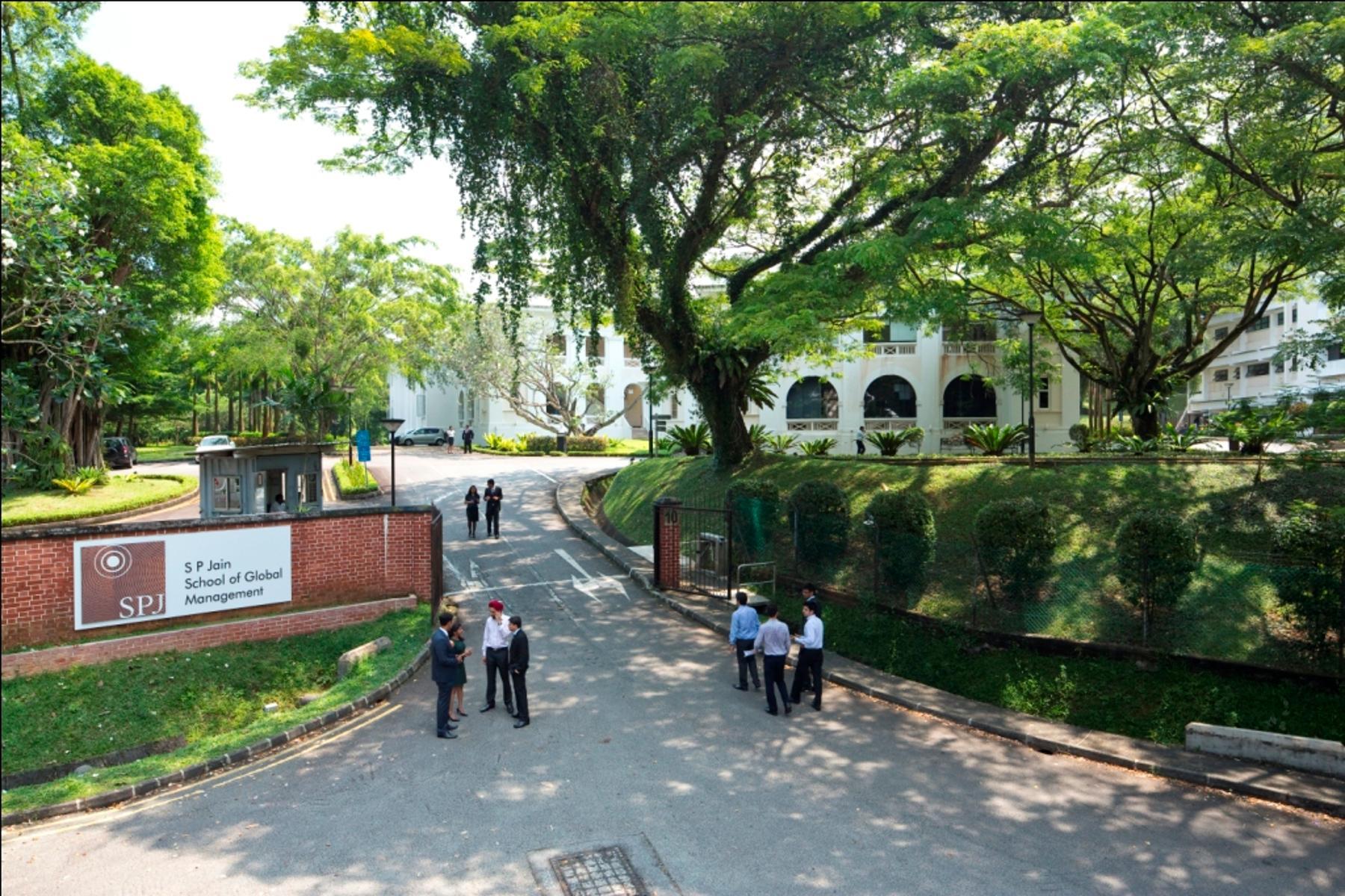 Khu học xá của S P Jain tại Singapore