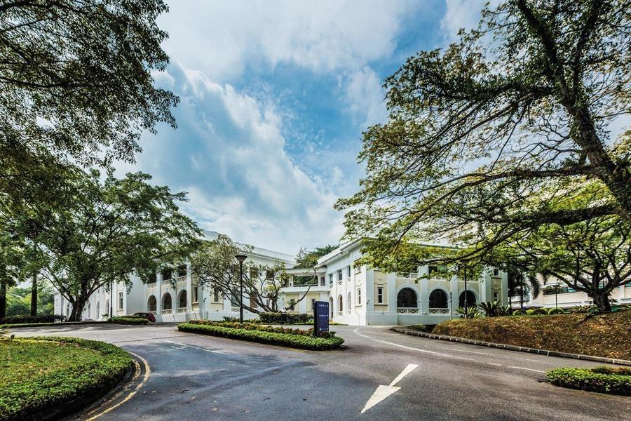 S P Jain khu học xá Singapore