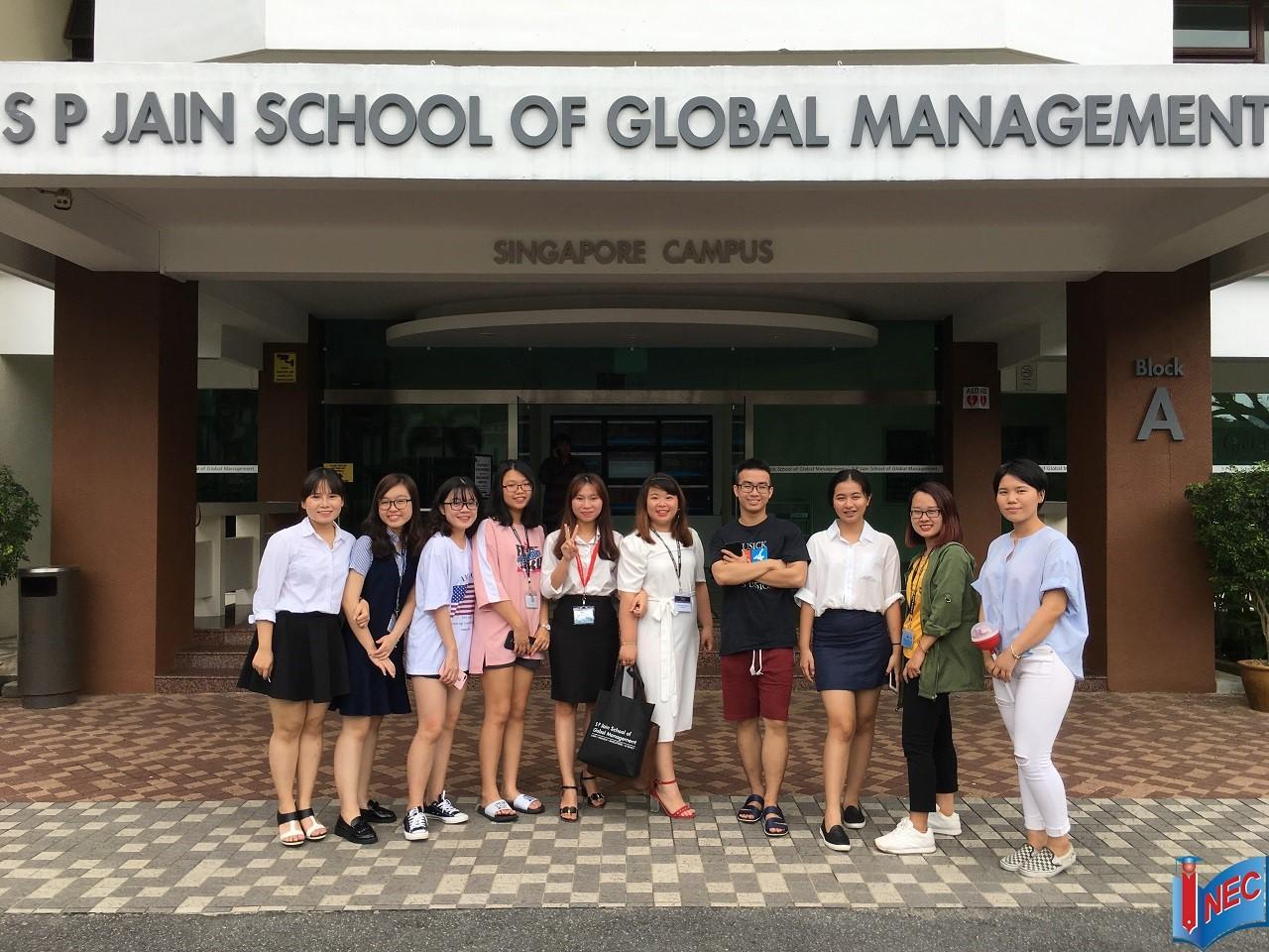 Du học Singapore tại Trường Quản trị S P Jain