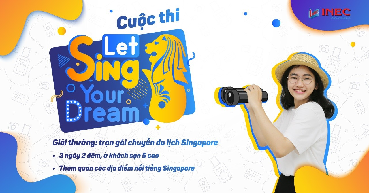 "cuộc thi ""Let Sing Your Dream"""