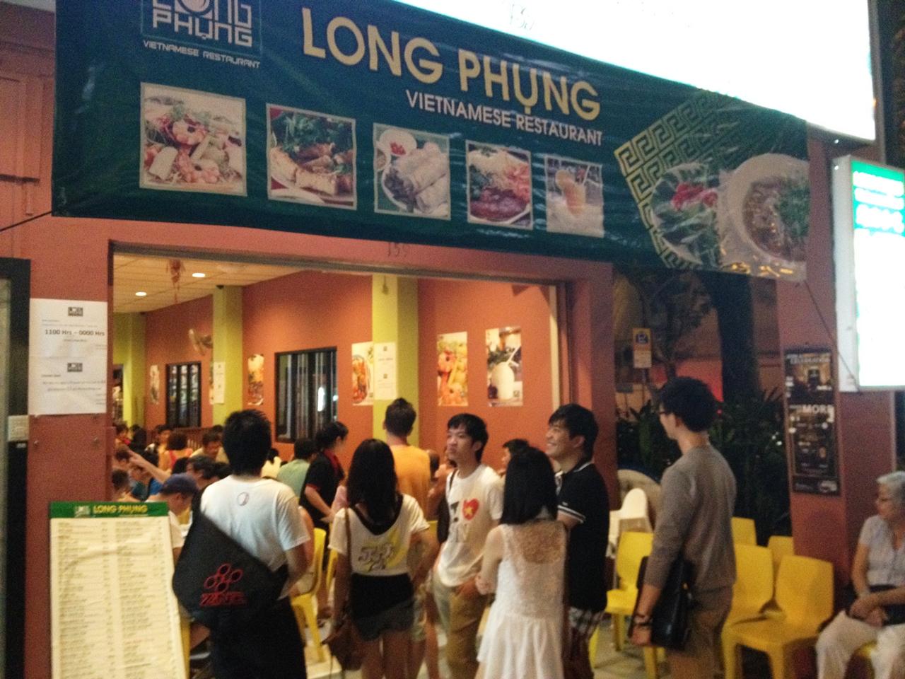 Nhà hàng Long Phụng - Singapore
