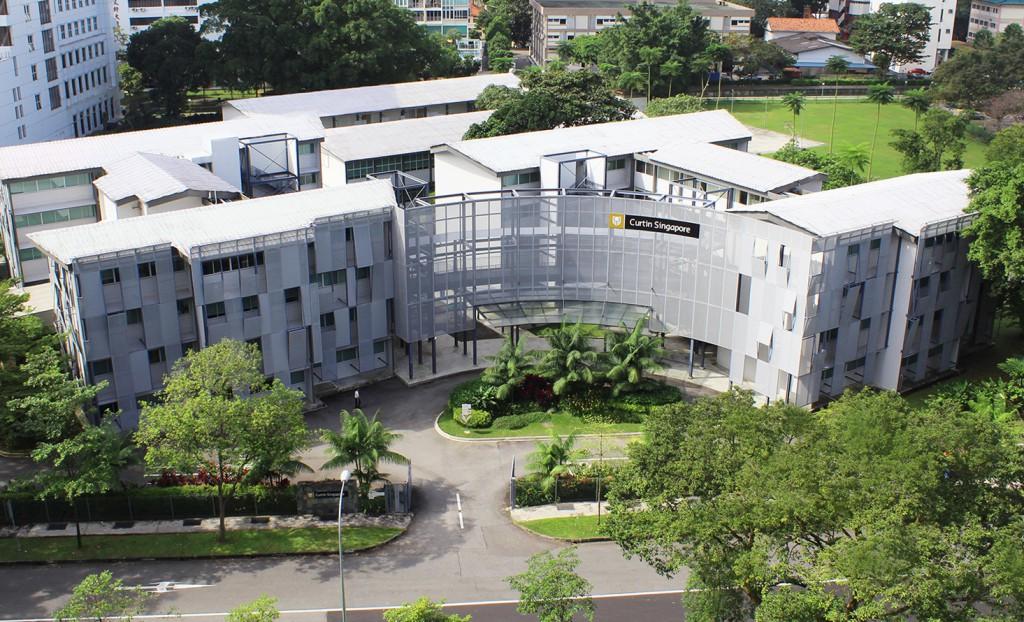 Khu học xá hiện đại của Đại học Curtin Singapore