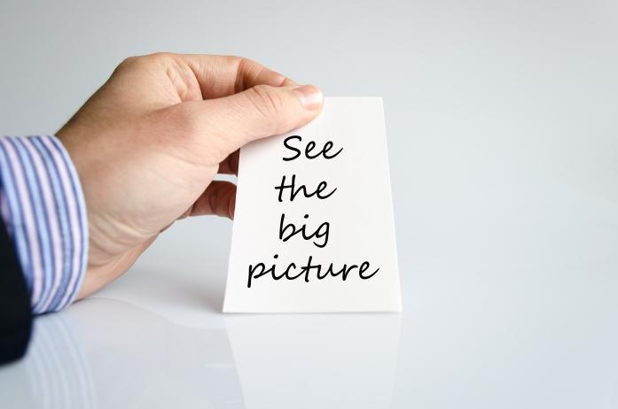 Tố chất đầu tiên là khả năng nhìn thấy bức tranh lớn