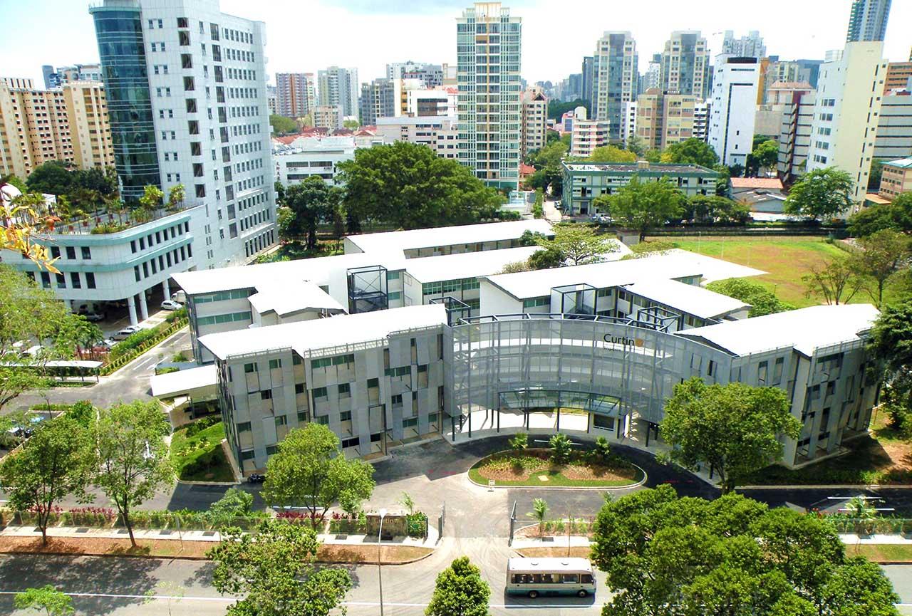 ĐH Curtin – một trong những trường nổi bật tại Singapore với học bổng khóa Thạc sĩ
