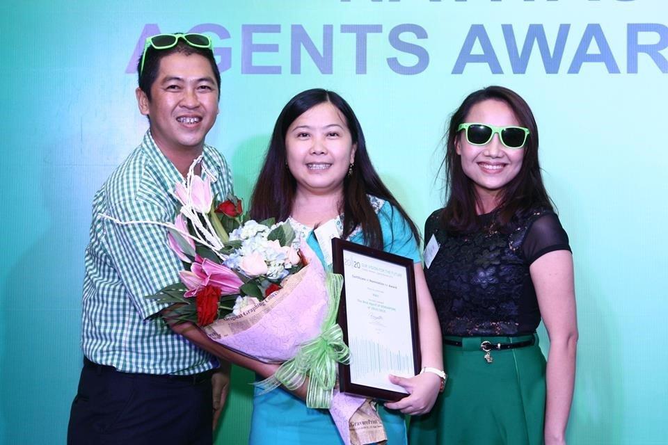 INEC được vinh danh trong Gala Navitas Vietnam Agents Awards Night 2015