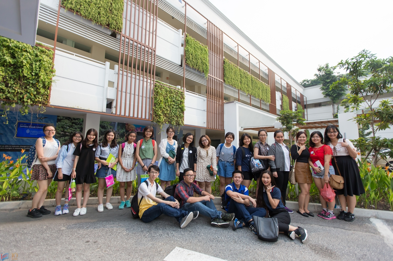 Học sinh INEC trải nghiệm du học hè tại JCU Singapore
