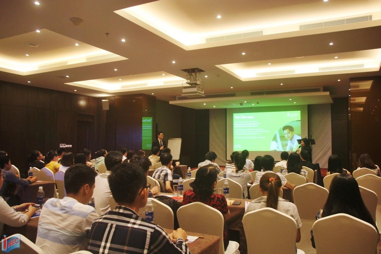 Hội thảo Đại học James Cook Singapore do INEC và trường phối hợp tổ chức