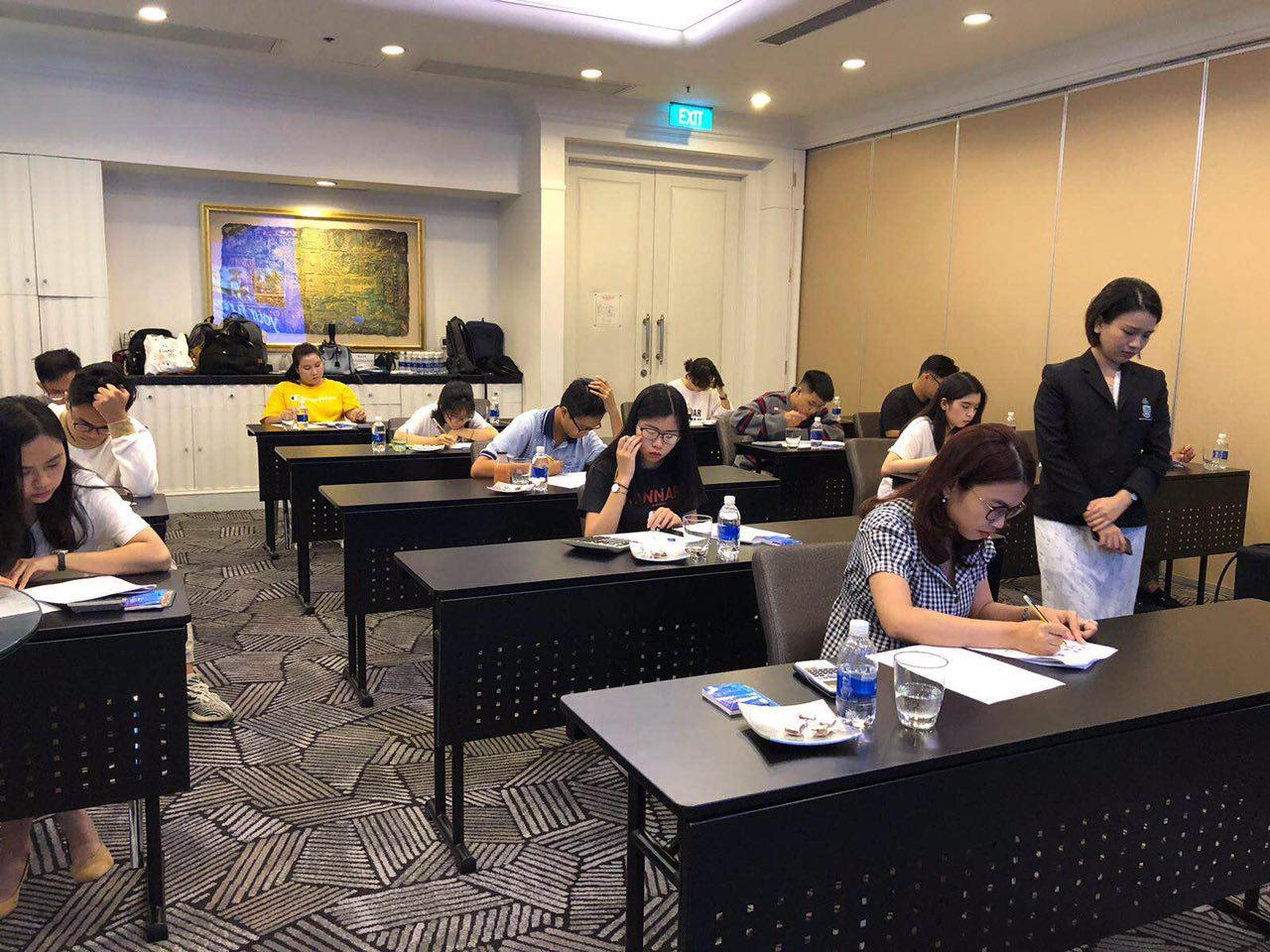 Kết quả thi học bổng JCUS 10.2019