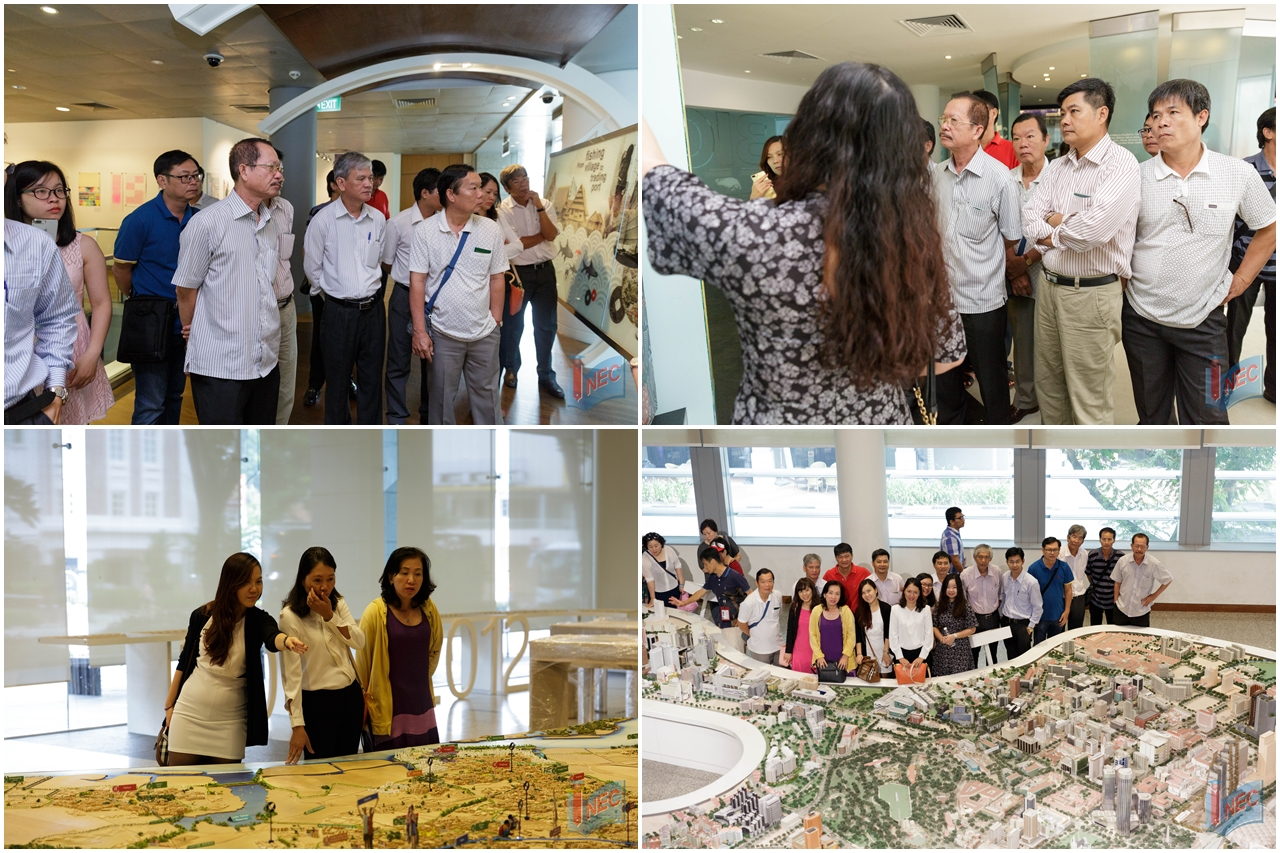 Đoàn giáo viên Việt Nam tham quan, học tập tại Singapore trong chuyến trao đổi giáo dục do INEC tổ chức