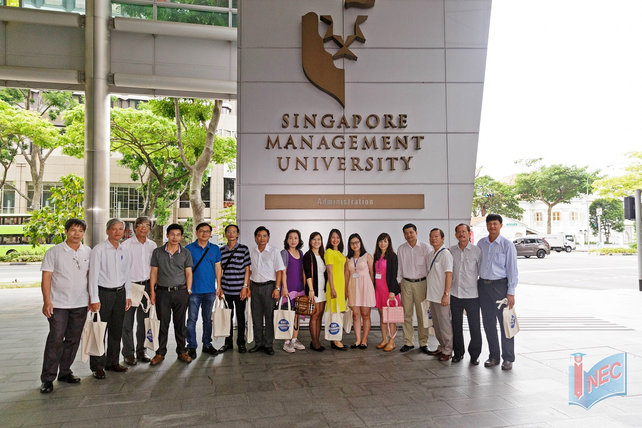 Du học INEC tháp tùng đoàn đại biểu ban giám hiệu các trường THPT tại Việt Nam thăm Đại học SMU