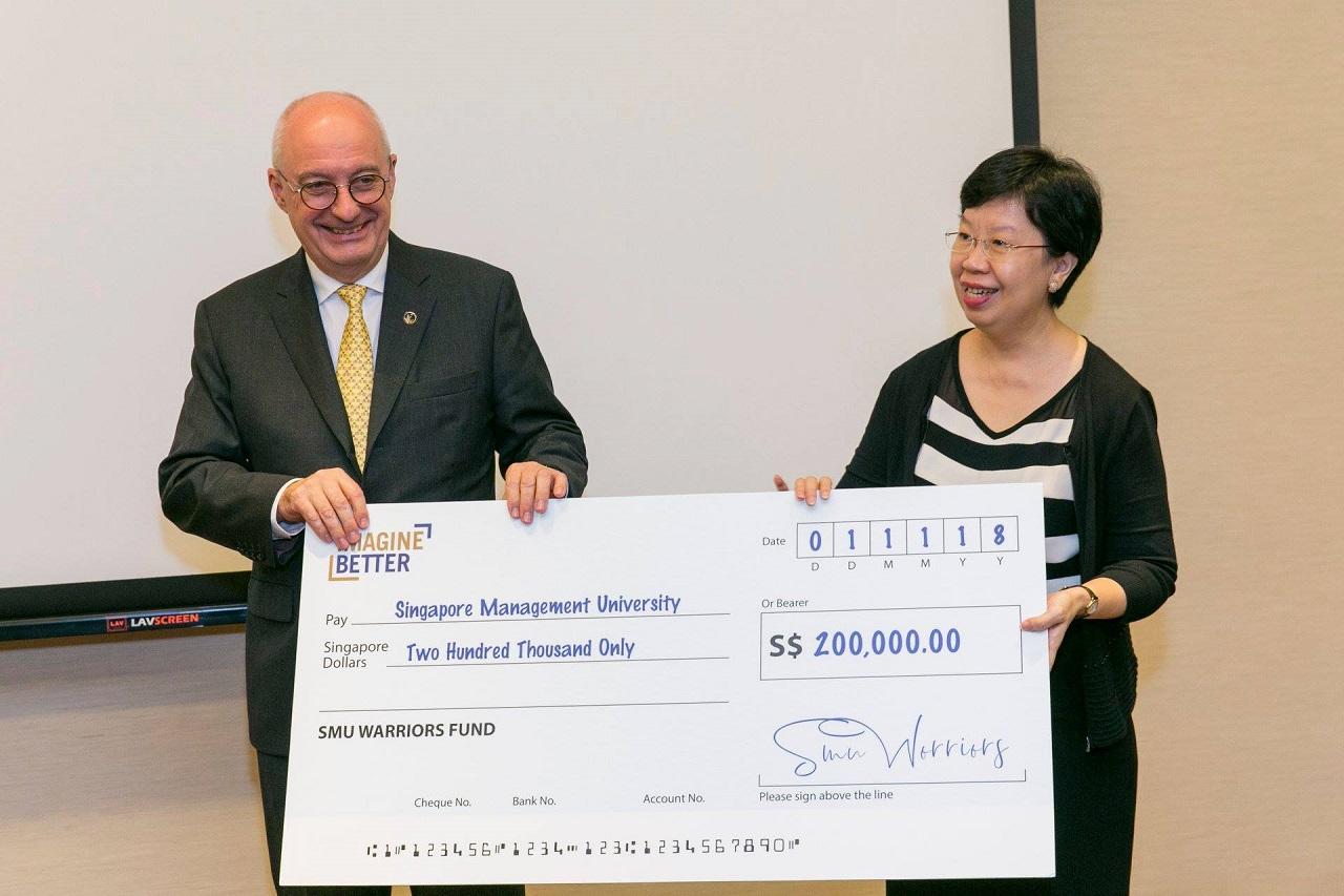 Đại học Quản lý Singapore (SMU) dành nhiều hỗ trợ tài chính cho sinh viên xuất sắc