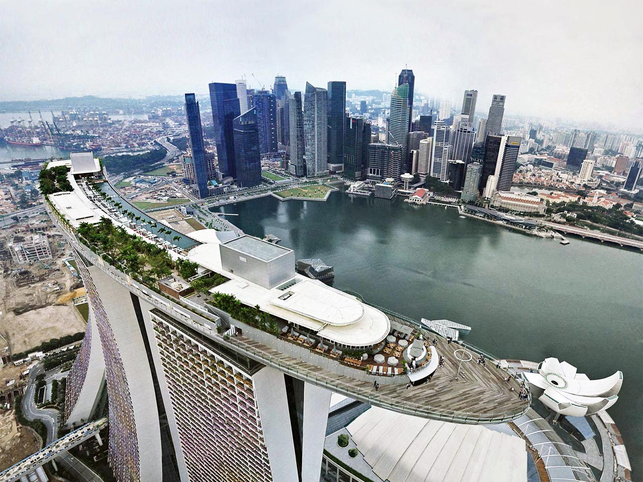 Cảnh Trên cao Singapore