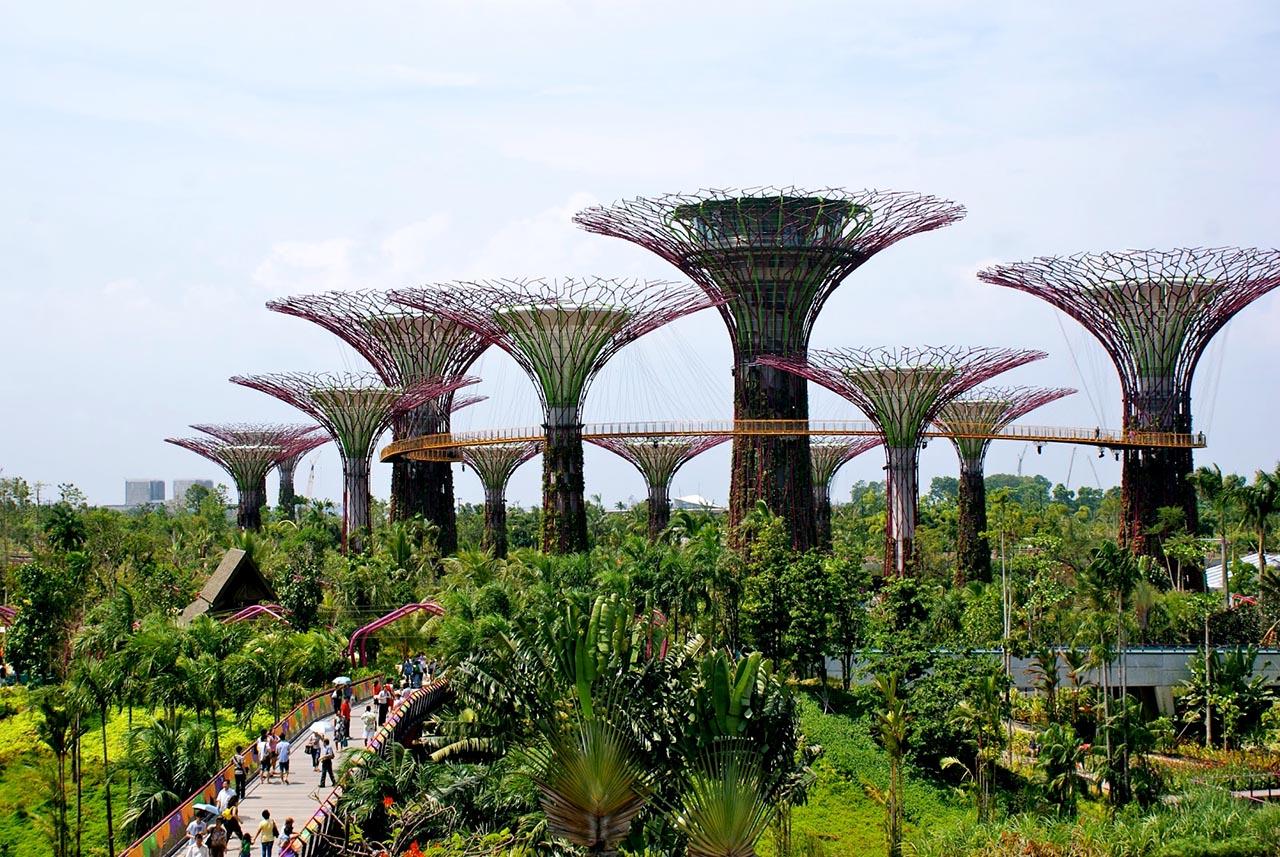 Cảnh Công viên Singapore