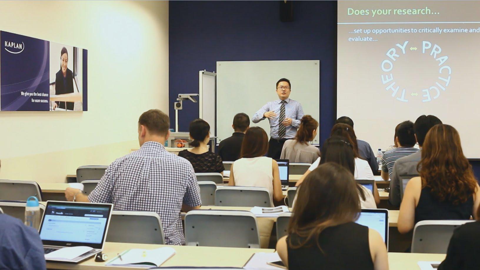 Tại Kaplan, sinh viên được cung cấp môi trường học tập phát triển tối đa tiềm năng bản thân
