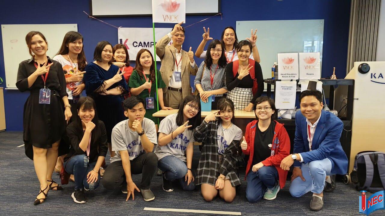 Đại diện Du học INEC thăm cộng đồng sinh viên Việt Nam tại Kaplan