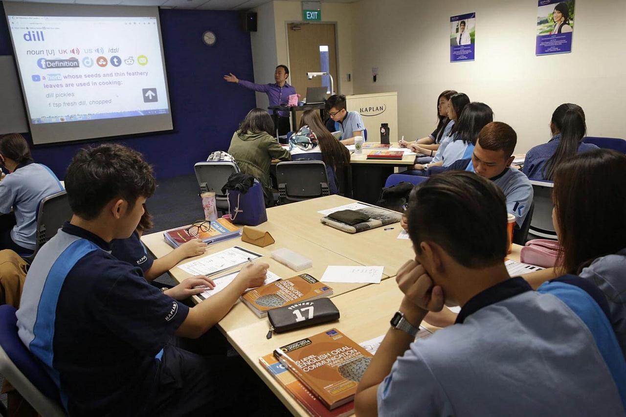 Lớp học tiếng Anh tại Kaplan