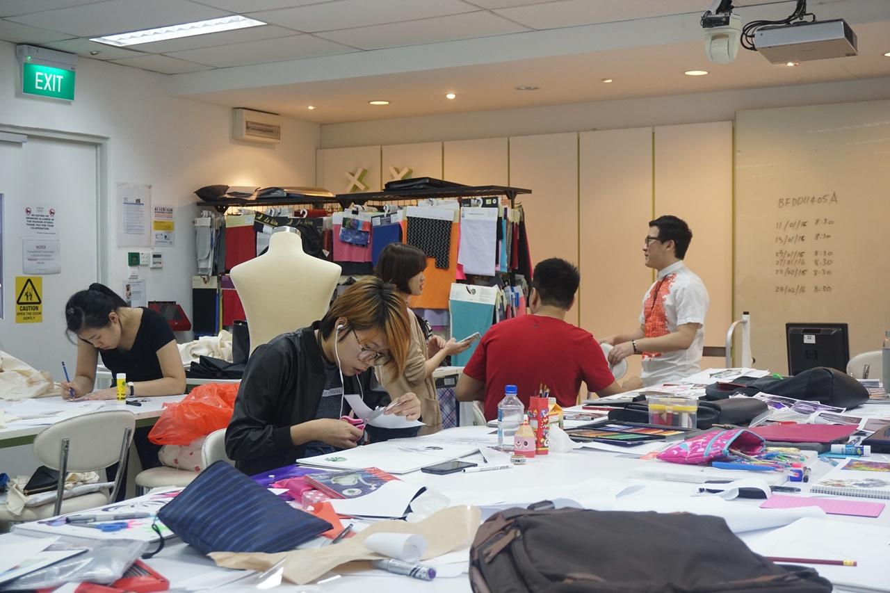 Du học Singapore ngành thiết kế thời trang tại MDIS hay Raffles