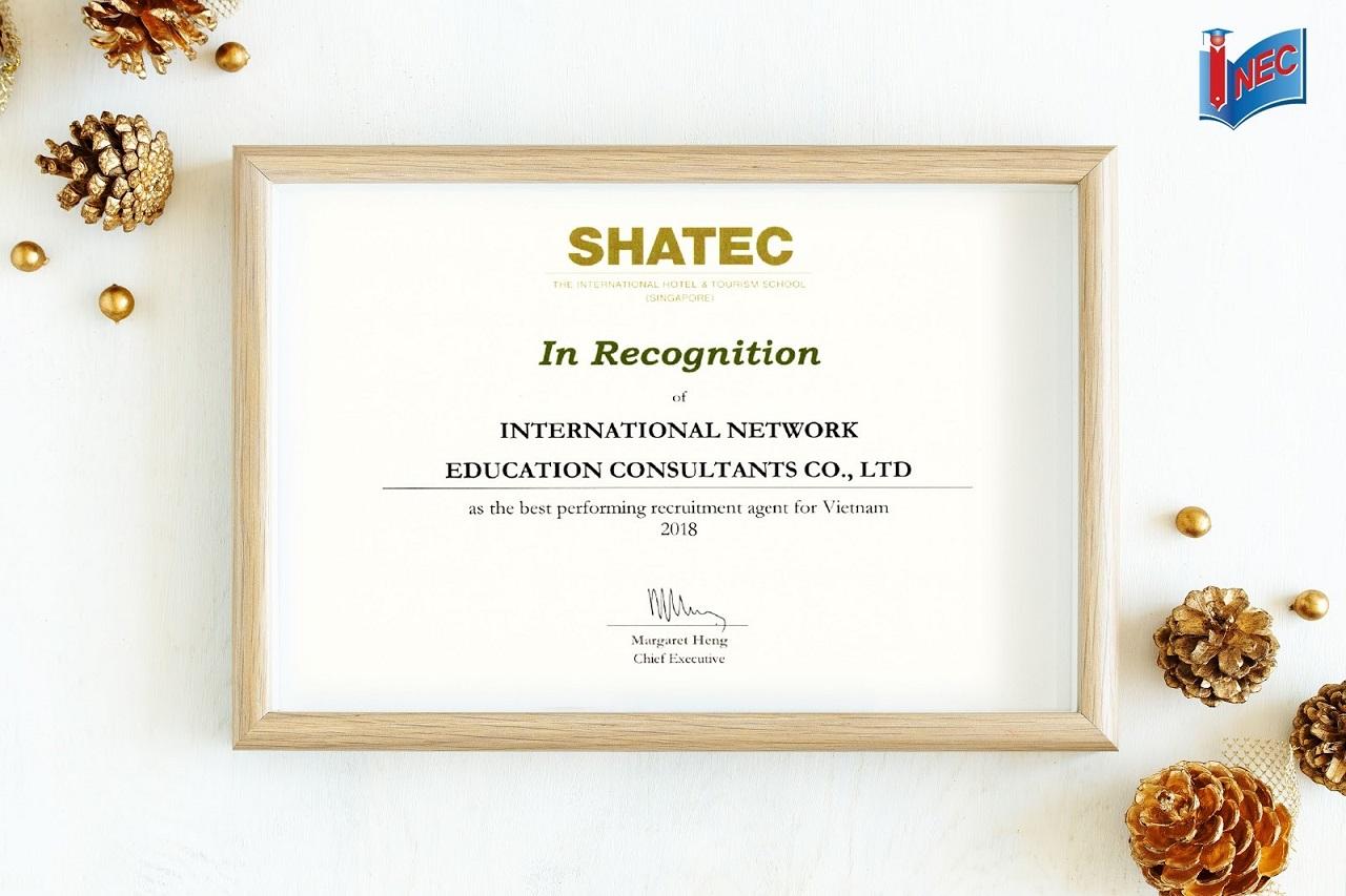 Du học INEC là đối tác tốt nhất của Học viện SHATEC