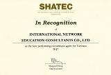 INEC - Đại diện tuyển sinh tốt nhất của Học viện SHATEC Singapore 2017
