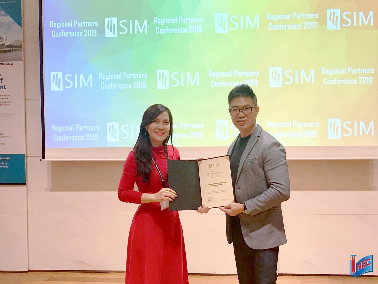 SIM award 2019