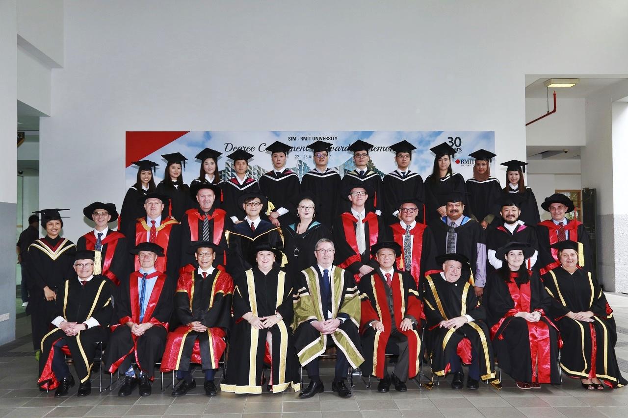 Sinh viên tốt nghiệp chương trình RMIT tại SIM