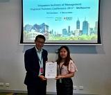 Chúc mừng INEC nhận Giải thưởng Xuất sắc từ Học viện SIM Singapore 2017