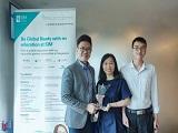 Du học INEC vinh dự nhận giải thưởng Best Agent từ Học viện SIM Singapore
