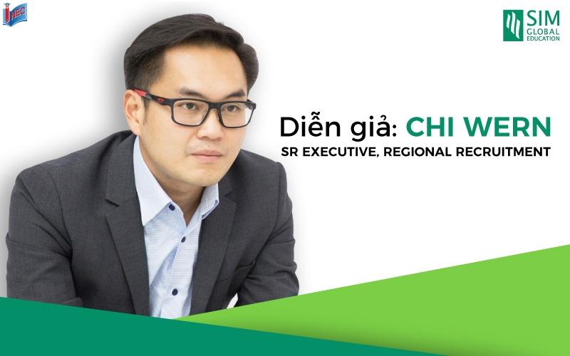Mr Chi Wern là đại diện đến từ SIM góp mặt tại hội thảo tháng 6