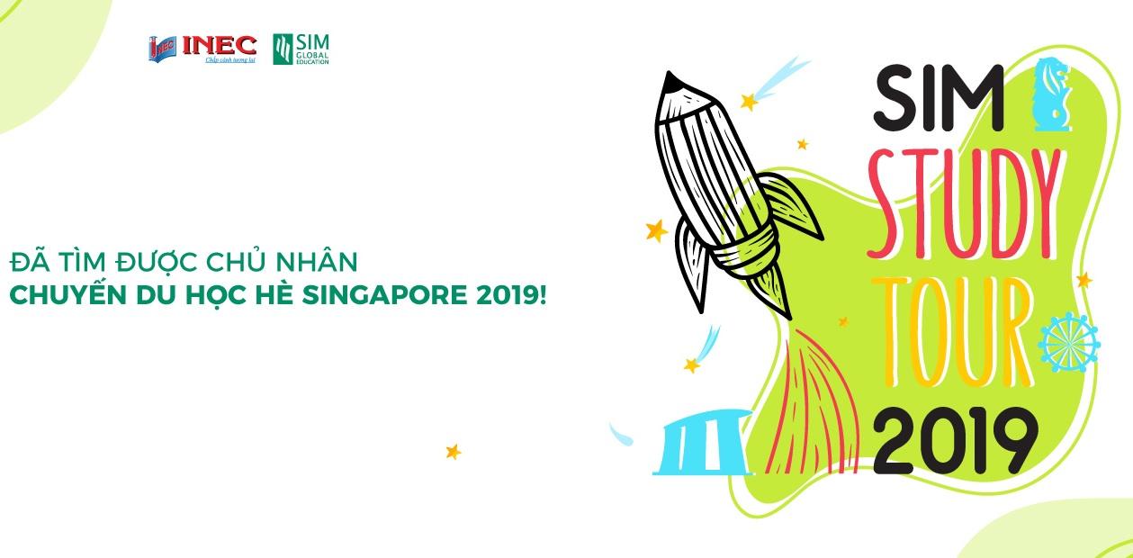 Thí sinh xuất sắc nào là người chiến thắng suất du học hè Singapore SIM Study Tour 2019?