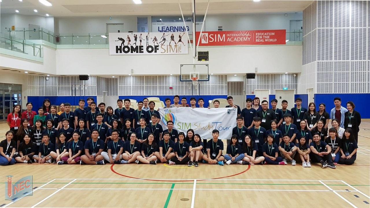 Study Tour SIM 2018 hội tụ học sinh đến từ nhiều quốc gia khác nhau ở châu Á tới để học tập và trải nghiệm
