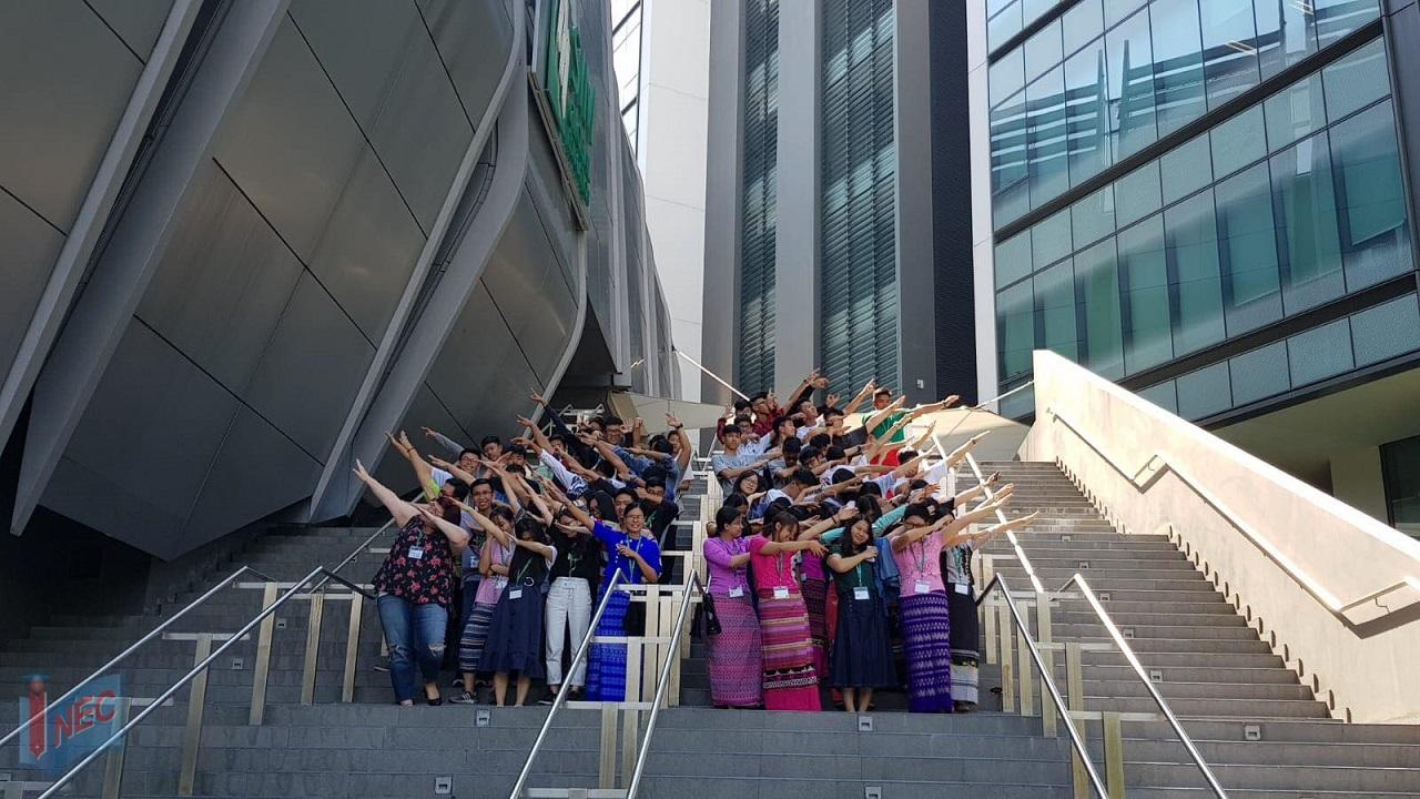 Trải nghiệm học tập và giao lưu quốc tế với SIM Study Tour