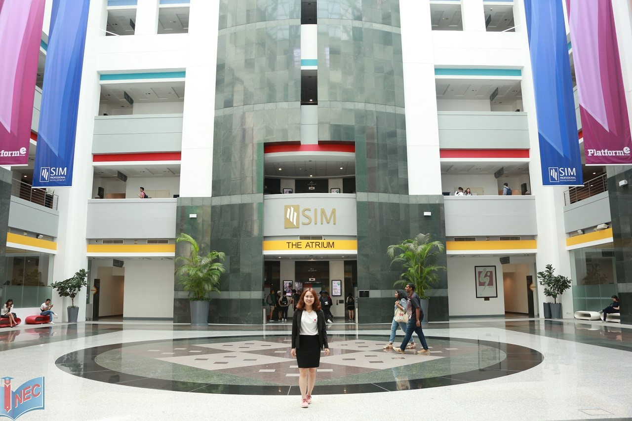 chương trình của Đại học Birmingham tại học viện SIM