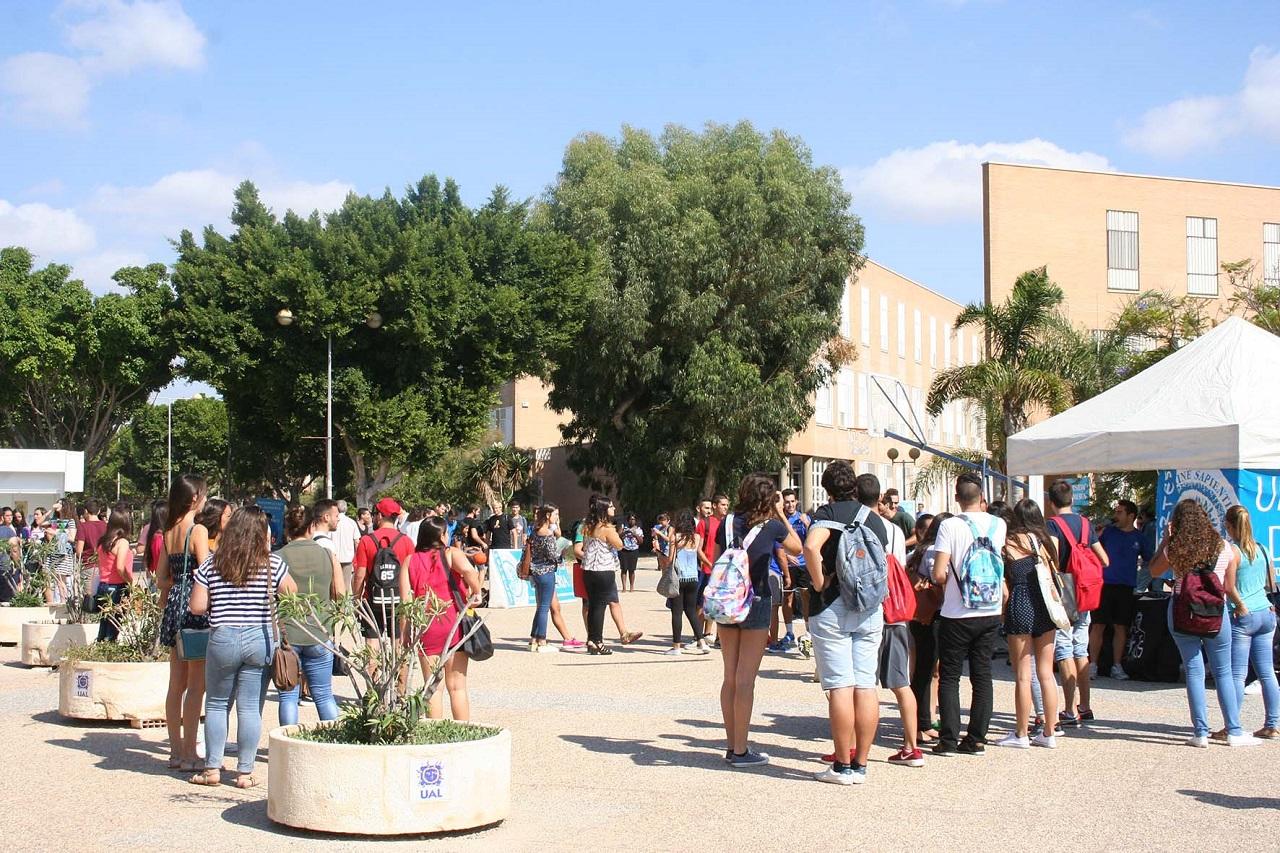 Đại học Almeria là nơi học tập của nhiều sinh viên quốc tế