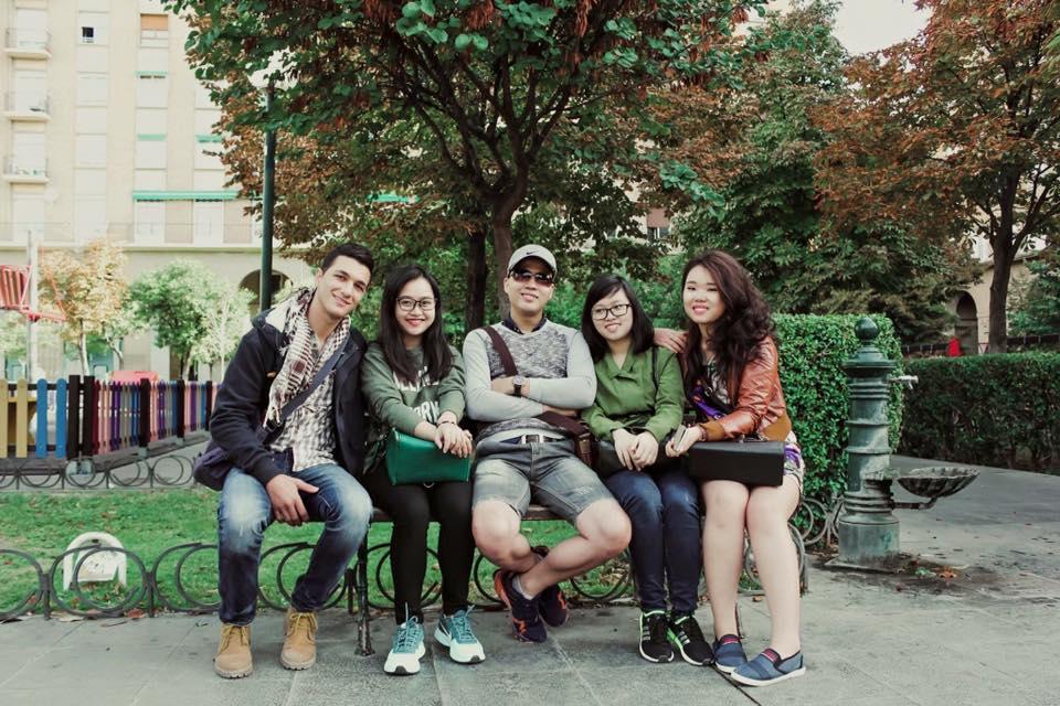 Sinh viên INEC tại Tây Ban Nha