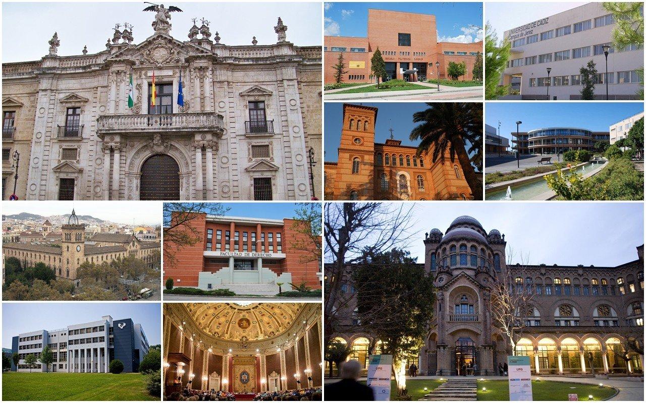 Các trường tại Tây Ban Nha