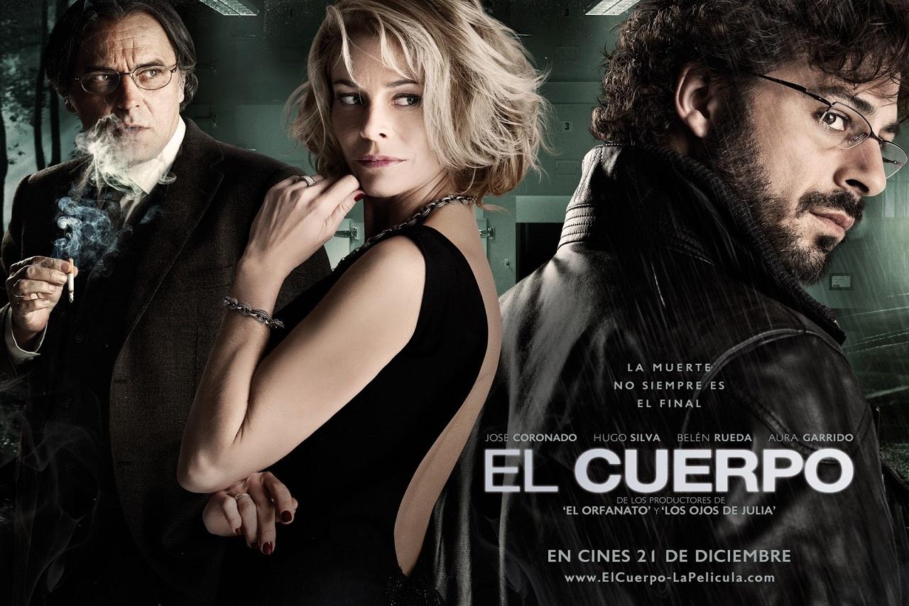 """Điện ảnh là một trong những ngành công nghiệp thế mạnh của Tây Ban Nha. (Poster bộ phim """"The Body"""")"""
