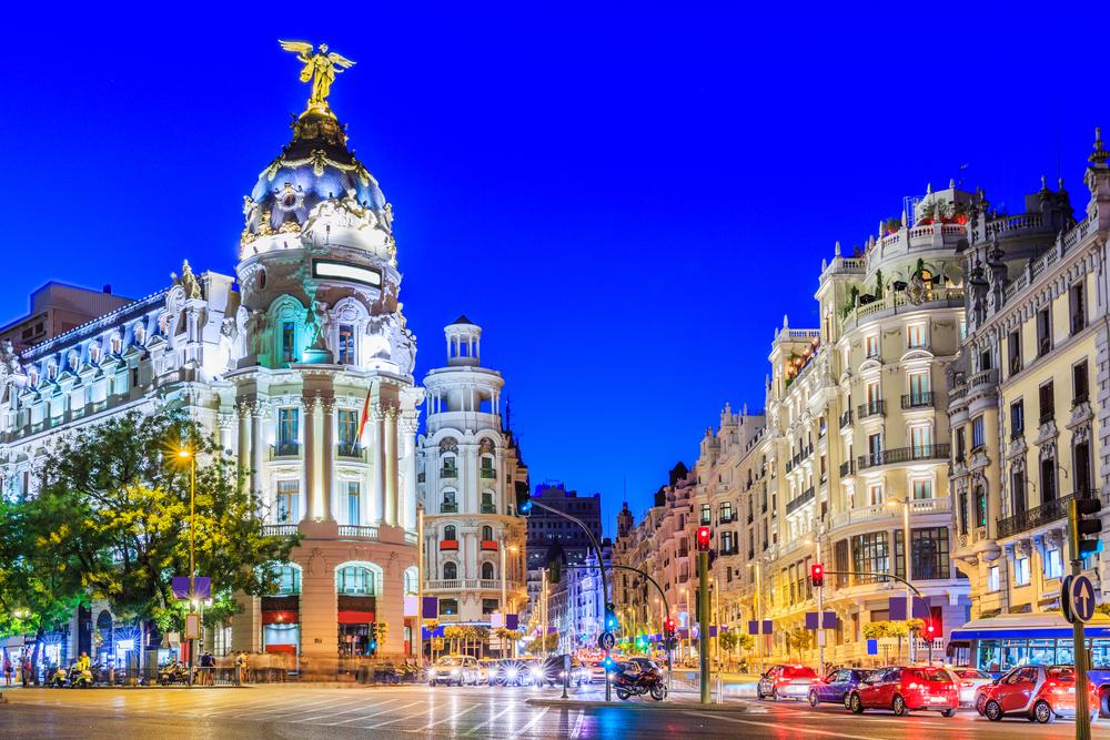 Madrid là một trong những thành phố sinh viên được yêu thích ở Tây Ban Nha