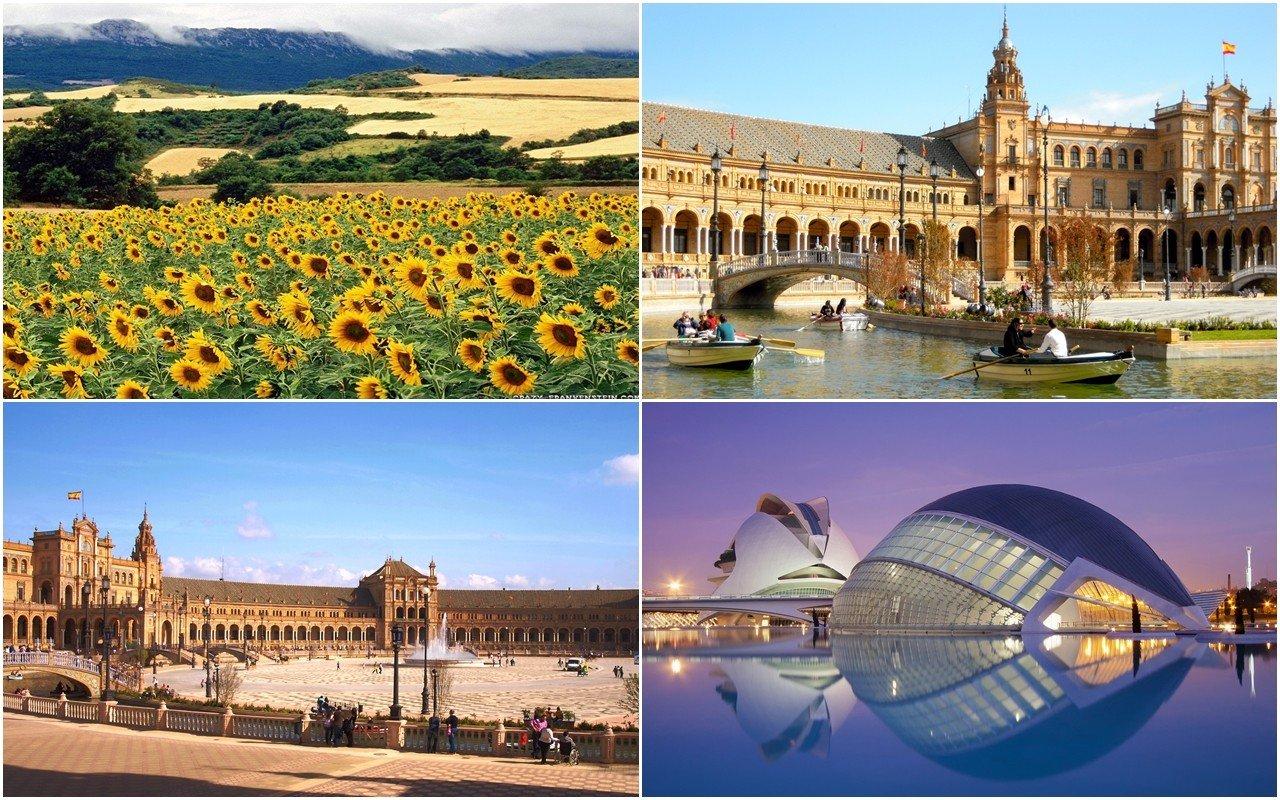 Phong cảnh tại Tây Ban Nha