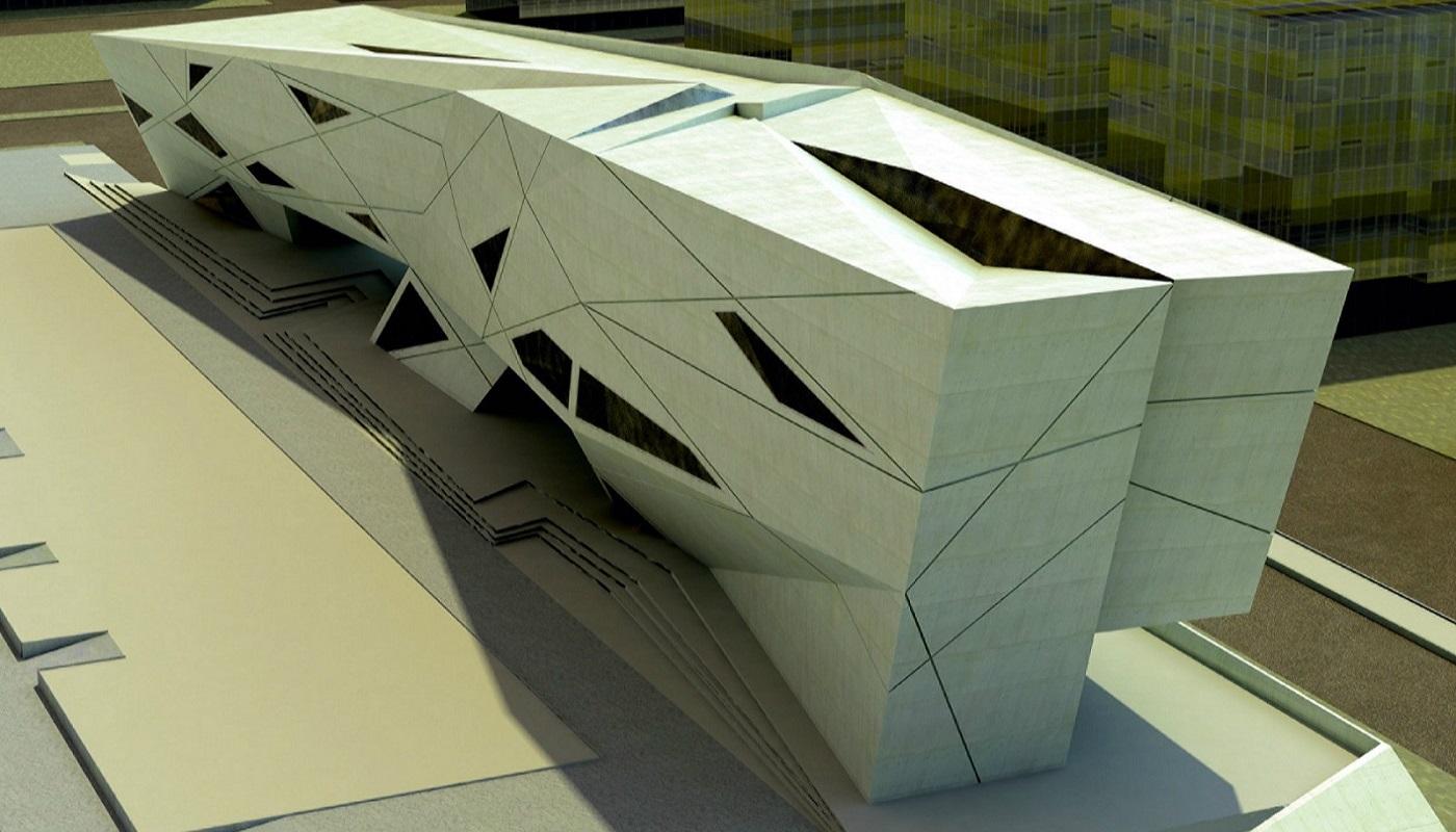 Kiến trúc độc đáo của thư viện Đại học Seville