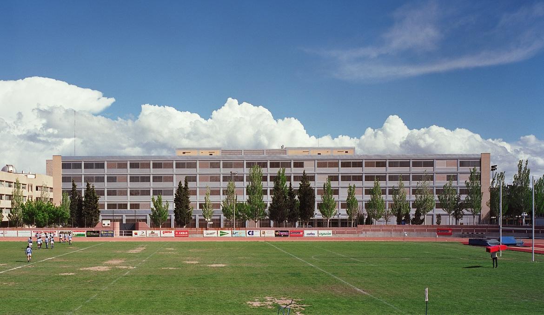 Sân bóng của Đại học Zaragoza