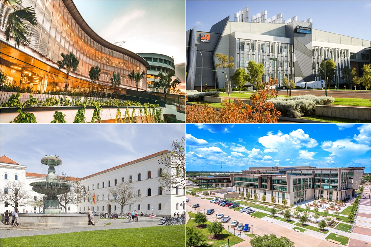 Đại học Công nghệ Nanyang (Singapore), Đại học Curtin (Úc), Đại học Ludwig-Maximilians (Đức), Đại học Texas A&M là một số trường đối tác của Đại học Jonkoping