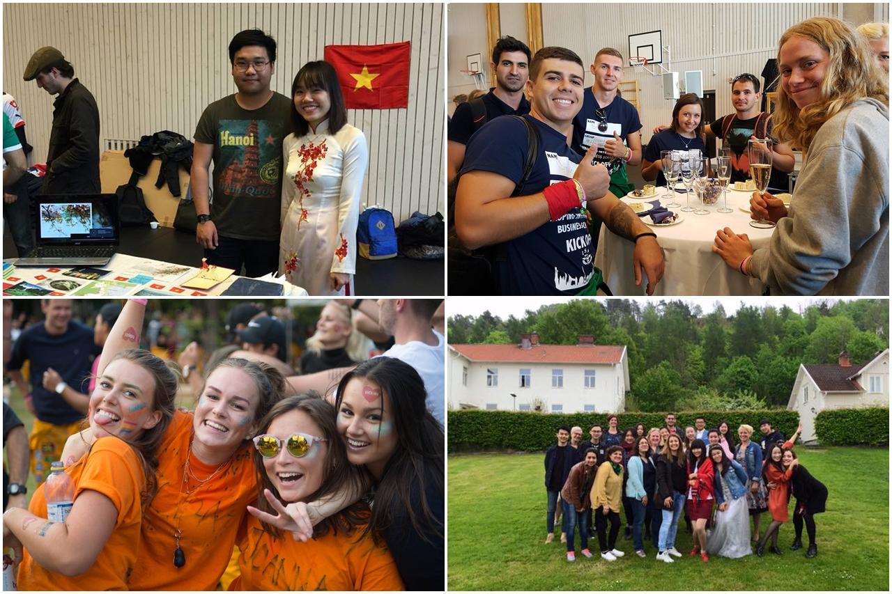 Đại học Jonkoping nổi tiếng với chương trình trao đổi sinh viên quốc tế