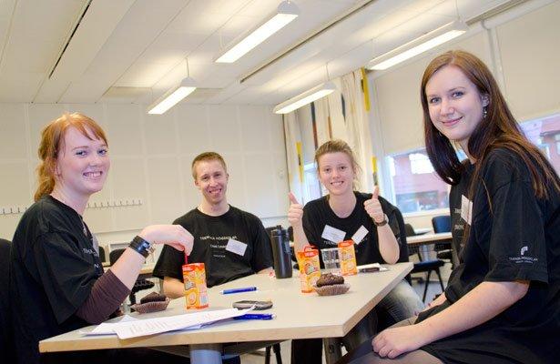 Sinh viên du học Thụy Điển