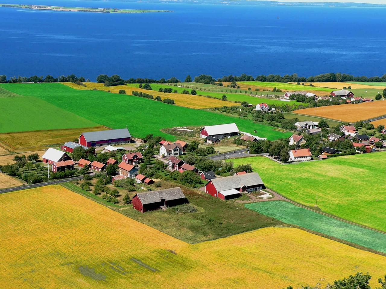 Du học Thụy Điển- Phong cảnh vùng Vattern