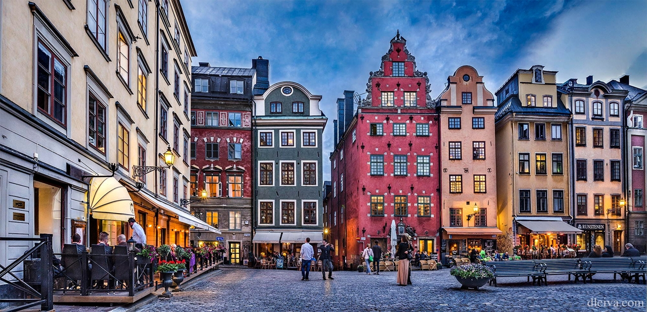 Thủ đô Stockholm hiện đại, sôi động và phát triển của Thụy Điển. Ảnh: internet