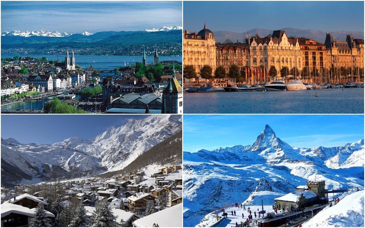 Một số nơi thực tập của sinh viên César Ritz tại Thụy Sĩ