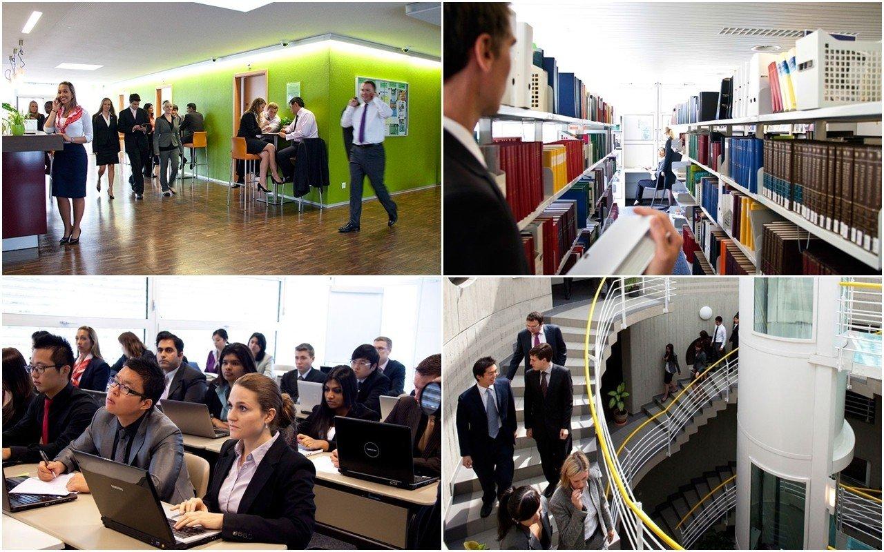 Thư viện hình ảnh đại học Cesa Ritz - Cơ sở vật chất