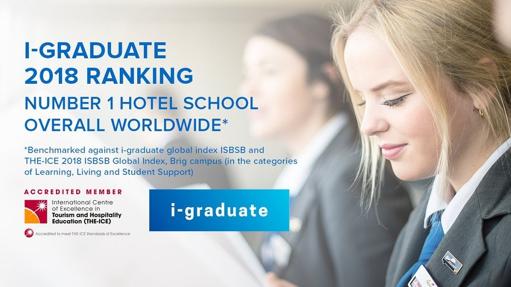 Cao đẳng César Ritz Thụy Sĩ khẳng định vị thế giáo dục bằng xếp hạng mới ấn tượng