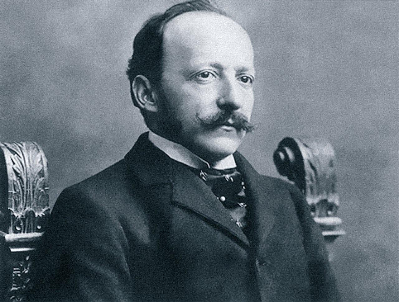Huyền thoại César Ritz. Ảnh: Une Parisienne à Lucerne